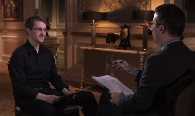 John Oliver finds Edward Snowden and a way for anyone to care about NSA's domestic surveillance