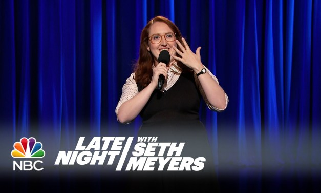 Emily Heller on Late Night with Seth Meyers
