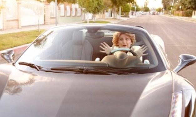 """David Krumholtz is the elderly widow Gigi in IFC's newly ordered series, """"Gigi's Bucket List"""""""