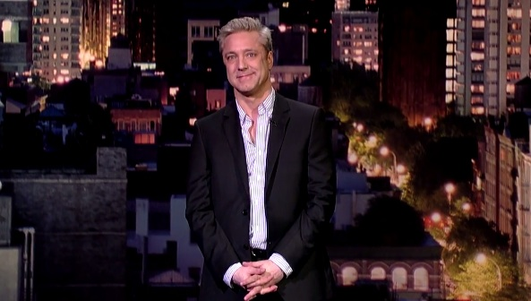 Nick Griffin on Late Show with David Letterman
