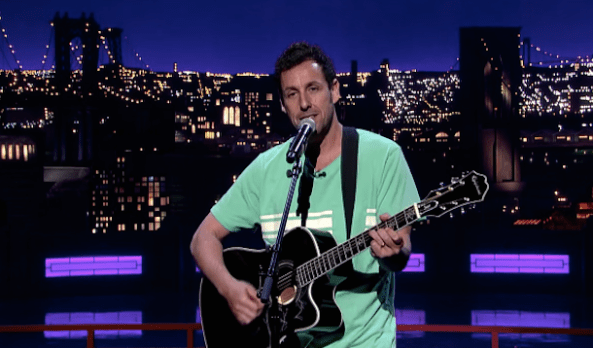 Adam Sandler's musical tribute to David Letterman