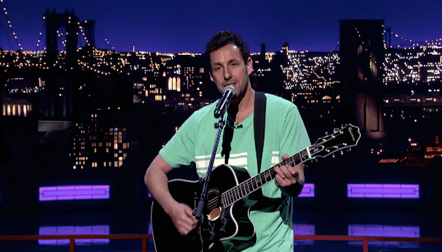 Adam Sandler's musical tribute to David Letterman