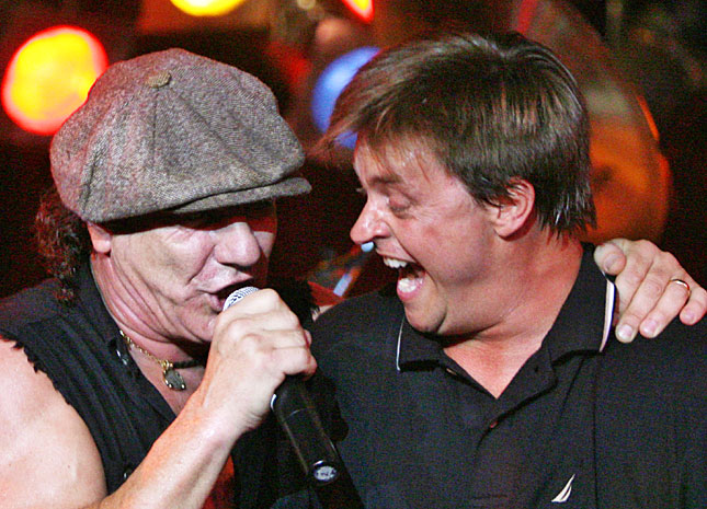 AC/DC's Brian Johnson recorded a duet with Jim Breuer for Breuer's upcoming music album