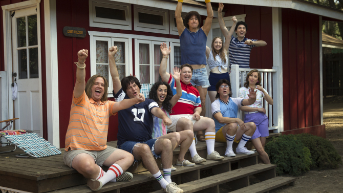 Getting oral from Wet Hot American Summer's cast and crew