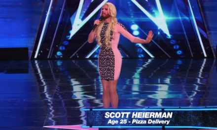 Scott Heierman's audition for America's Got Talent 10