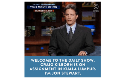 Comedy Central bids Jon Stewart fond farewell with epic online/audio marathon #JonVoyage