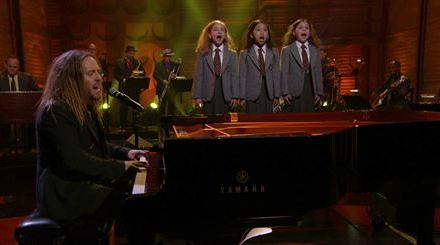 "Tim Minchin performs ""When I Grow Up"" from Matilda the Musical, on Conan"