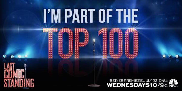 The Top 100 comedians competing on NBC's Last Comic Standing 2015