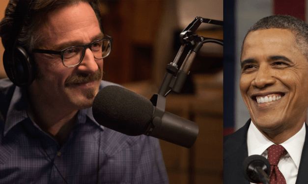 Marc Maron to interview President Barack Obama for WTF podcast