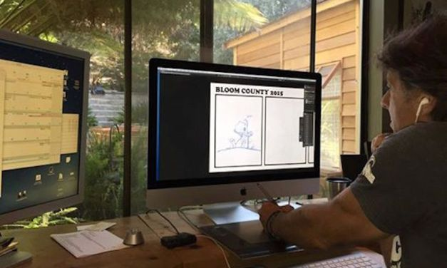 Berkeley Breathed breathing new life into Bloom County comic strip