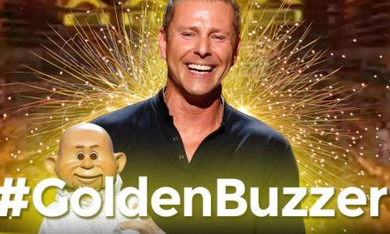 "Paul Zerdin earns ""Golden Buzzer"" for America's Got Talent 2015"