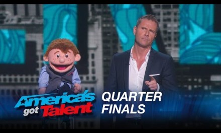 Paul Zerdin's live quarterfinal round at America's Got Talent 2015 from Radio City Music Hall