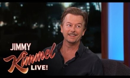 Corporate comedy gigs in 2015 same as they ever were, David Spade tells Jimmy Kimmel Live
