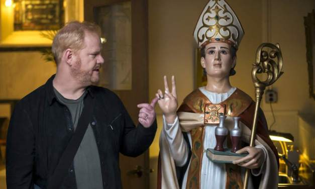 Jim Gaffigan will perform stand-up comedy for Pope Francis
