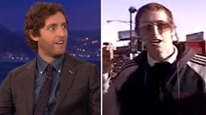 Thomas Middleditch was clowning on McDonald's in 2006, got paid for his viral video parody