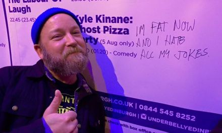 Kyle Kinane and Colt Cabana laugh at their own Edinburgh expense