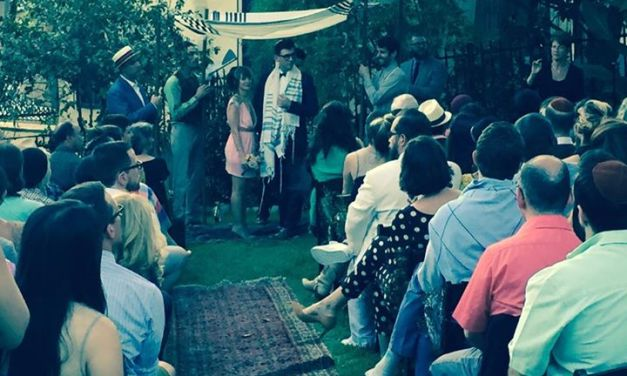 Mazel Tov! Natasha Leggero and Moshe Kasher get married