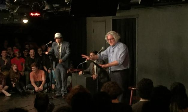 Donald Trump debated Bernie Sanders! (as Anthony Atamanuik and James Adomian at UCB's Whiplash)