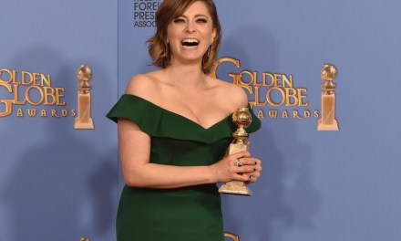 "Rachel Bloom wins Golden Globe for Best Actress in a TV Series, Comedy or Musical, for musical comedy ""Crazy Ex-Girlfriend"" on The CW"