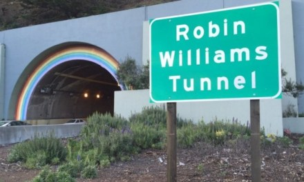 California renames Highway 101 tunnel for the late Robin Williams