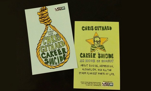 "Review: Chris Gethard, ""Career Suicide"""