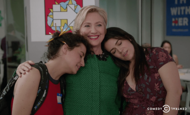 Here's Hillary Clinton's appearance on Broad City with Abbi and Ilana
