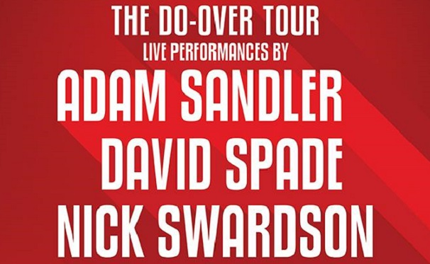 Adam Sandler going on mini stand-up tour with David Spade, Nick Swardson, Rob Schneider and friends