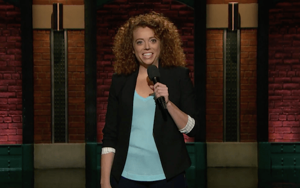 Michelle Wolf on Late Night with Seth Meyers