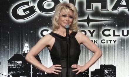 Pamela Anderson hosted Gotham Comedy Live for AXS TV, which means you can watch her do stand-up now