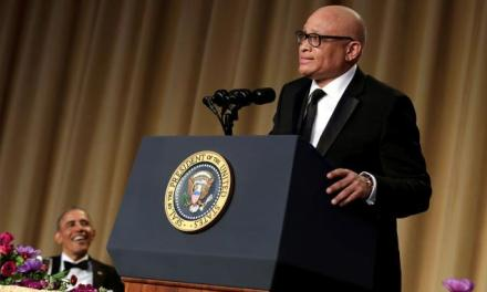 Larry Wilmore's speech at the 2016 White House Correspondents Dinner