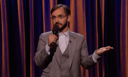 Myq Kaplan doesn't do pot on Conan