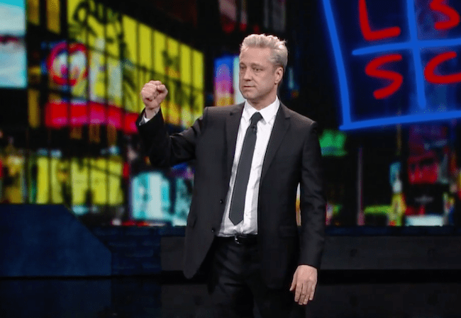 Nick Griffin on The Late Show with Stephen Colbert