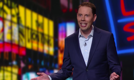 Ryan Hamilton on The Late Show with Stephen Colbert
