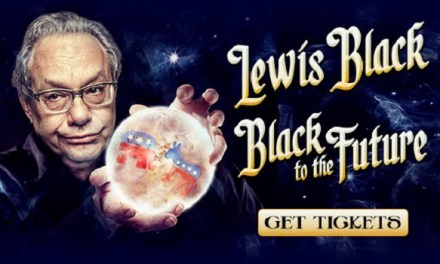 "Lewis Black's limited 2016 Broadway engagement of ""Black to the Future"""