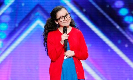 13-year-old comedian Lori Mae Hernandez auditions for America's Got Talent 2016