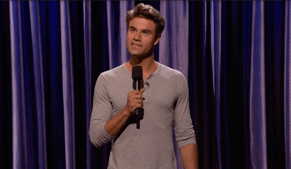 Matthew Broussard on Conan