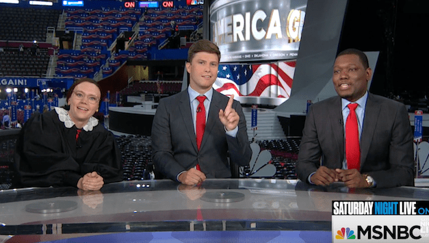 SNL's Weekend Update live on MSNBC from the 2016 Republican National Convention
