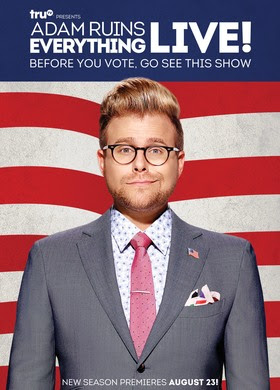 Adam Conover Ruins Everything Live! in summer tour previewing 2016 Election special on truTV