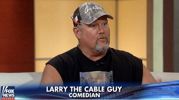 "Dan Whitney breaks from ""Larry the Cable Guy"" character to explain it after ""FOX & Friends"" segment backlash"