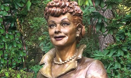 Anniversary of Lucille Ball's birthday greeted with new statue, all-star comedy fest and prep for a national comedy museum in her New York hometown
