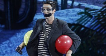 "Tape Face gets ""Dunkin Save"" through semifinals, into finals of America's Got Talent 2016"