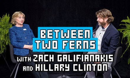 Between Two Ferns with Zach Galifianakis and Hillary Clinton