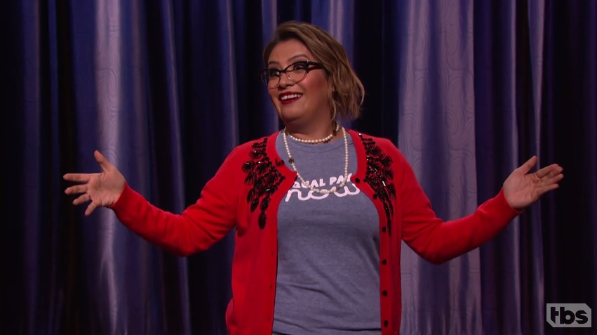 Cristela Alonzo on Conan