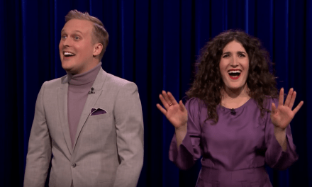 Kate Berlant and John Early on The Tonight Show Starring Jimmy Fallon