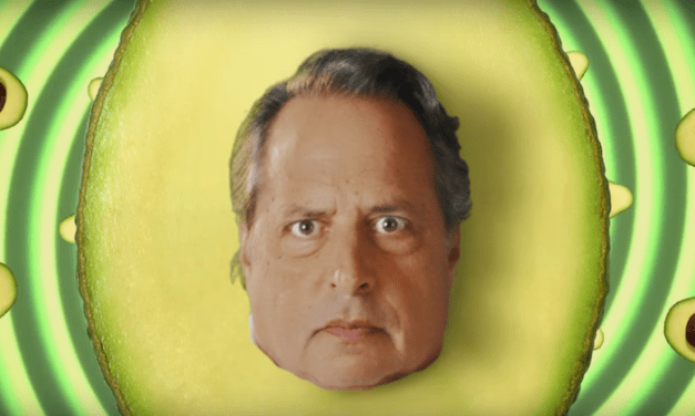 Jon Lovitz subliminal Super Bowl advertisement for avocados from Mexico