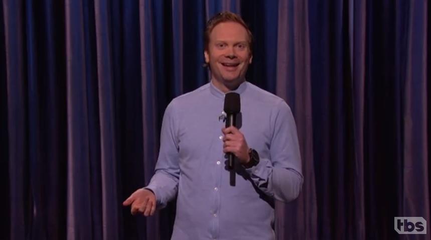 Nathan Macintosh's American late-night TV debut on Conan