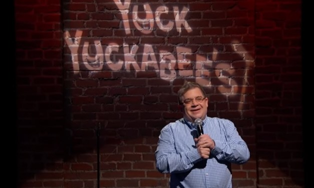 Patton Oswalt performs Mike Huckabee's Twitter jokes on Jimmy Kimmel Live