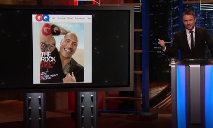 Chris Hardwick's @midnight rant about GQ putting The Rock on the cover of its Comedy Issue