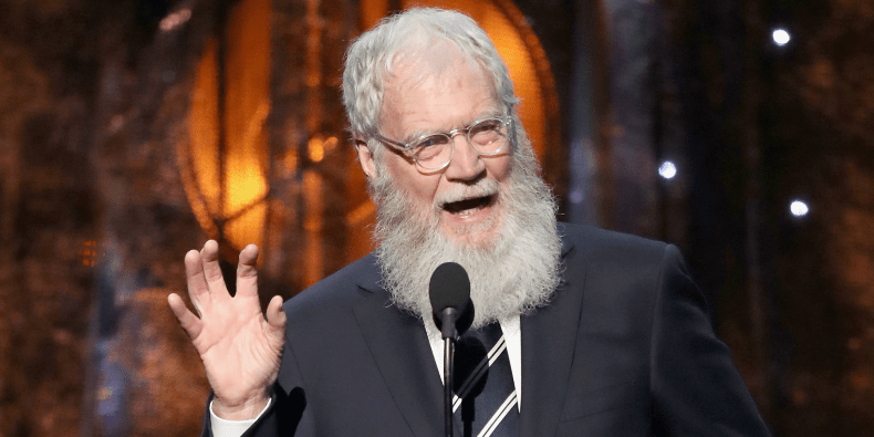 David Letterman will receive the 2017 Mark Twain Prize for American Humor