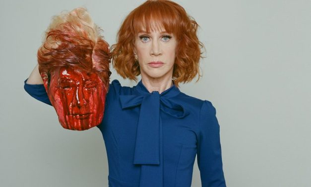 Kathy Griffin apologizes for this bloody Trump photo